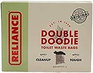 Reliance Double Doodie Toilet Waste Bag