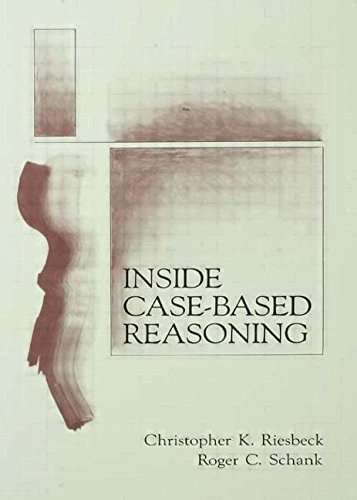 Inside Case-Based Reasoning (Artificial Intelligence Series) by Brand: Psychology Press