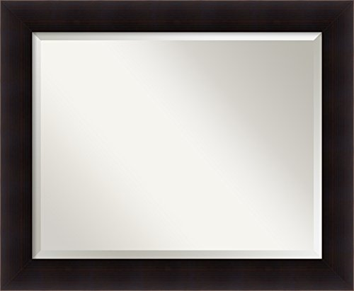 Wall Mirror Large, Portico Expresso Wood: Outer Size 34 x ()