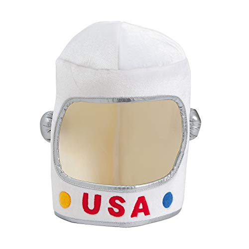 Fun Express - Astronaut Helmet - Apparel Accessories - Hats - Novelty Piece Hats - 1 Piece