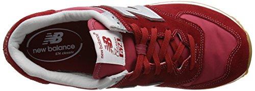 Nuovo Equilibrio Herren Ml574hrt Sneaker Rot