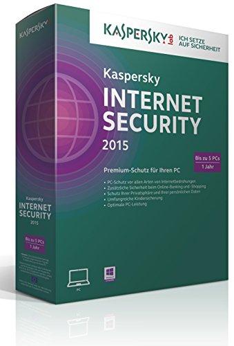 Kaspersky Internet Security 2015 - 5 PCs