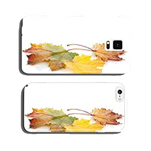 Colorful autumn maple leaves cell phone cover case Samsung S6