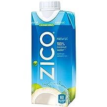 ZICO Premium Coconut Water, Natural, 11.2 fl oz (Pack of 12)