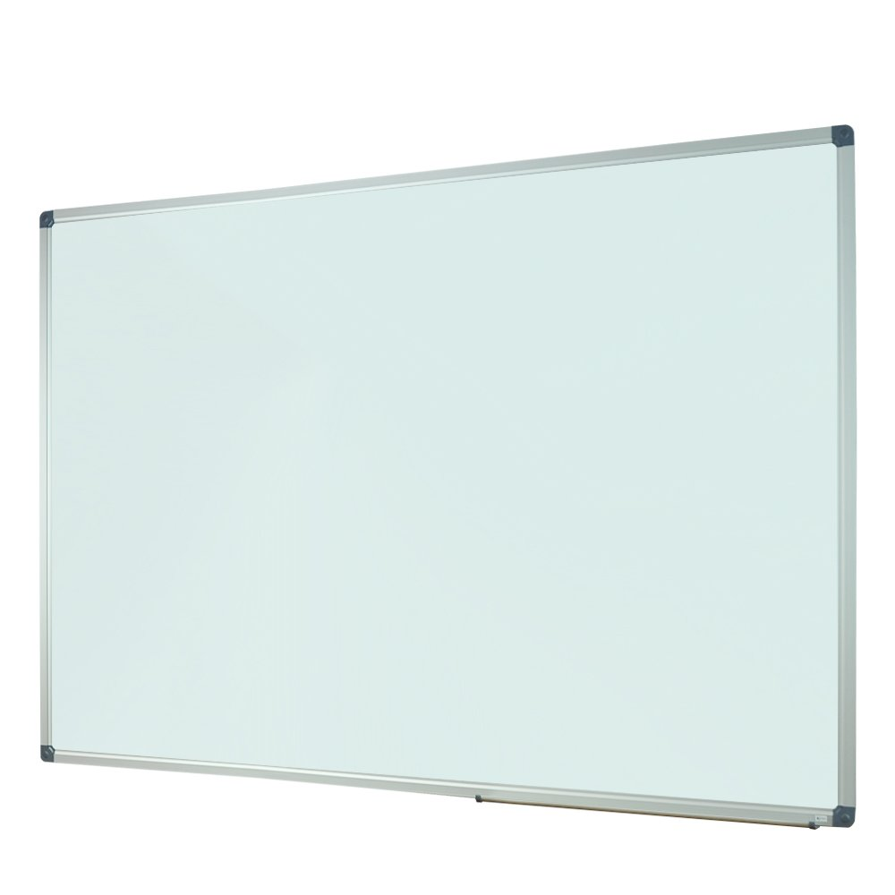 Lockways Magnetic Dry Erase White board - 60 X 40 Inch , Whiteboard Sliver Aluminium Frame U10314161726 For Office & School