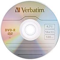 Verbatim 64046 4.7GB DVD-R 16X (Pack of 50 Disc)