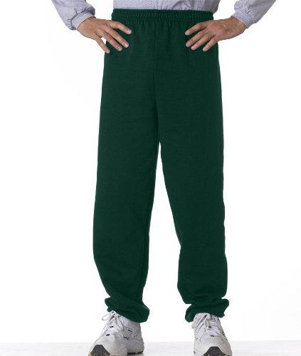 Gildan-7.75 oz. Heavy Blend 50/50 Sweatpants~Forest Green~Adult-SM