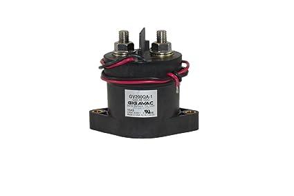 Amazon com: Gigavac Contactor GV200QA 500+ Amp - 48 Volt DC