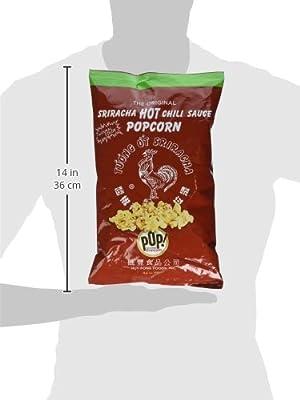 Pop Gourmet Popcorn, Huy Fong Sriracha, 4.5 Ounces