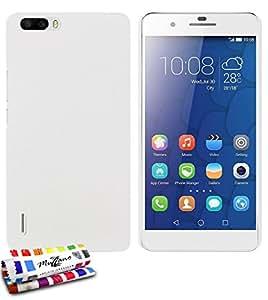Muzzano F2085353 - Funda para Huawei Honor 6 Plus, color blanco