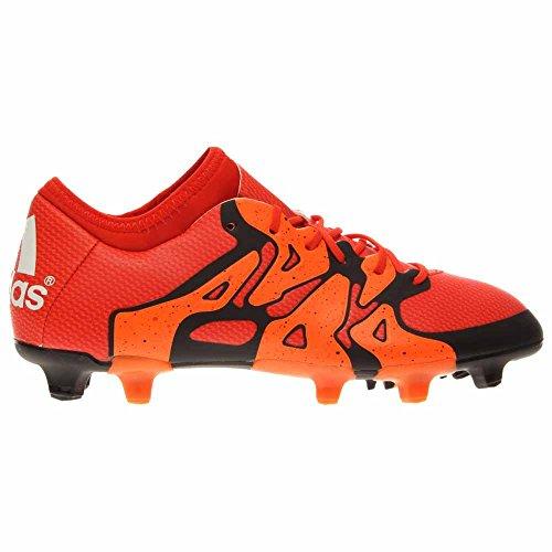 Adidas X 15,1 Fg / Ag Fotballsko (solenergi Oransje, Svart) Bold Orange / Hvit / Solar Oransje