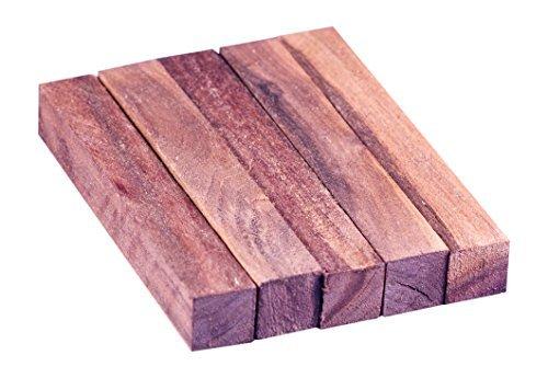 North American Black Walnut Wood Turning Pen Blanks | Wood Pen Blanks 5 Pack | 3/4