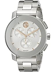 Movado Womens 3600356 Stainless Steel Bracelet Watch