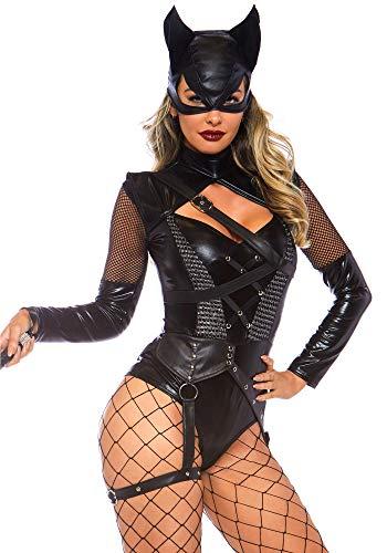 Leg Avenue Womens Villainess Vixen Sexy Cat Woman