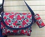 Betsey Johnson Misty Rose Messenger Diaper Bag Set