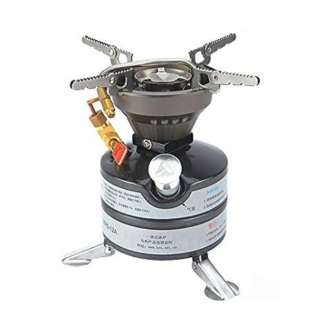 BRS con refrigeración de hornillo de gas para Camping estufa de utensilios de cocina portátil y ligero: Amazon.es: Deportes y aire libre