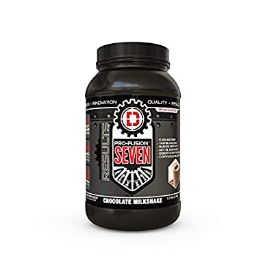 PRO Fusion 7 Sustained Release Protein- High Protein Meal Replacement Enhanced with MCT Oil