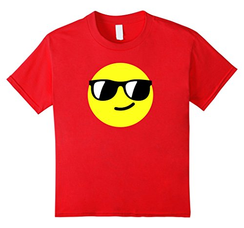 Kids Smiley Sunglasses Face Emoticon Emoji Shirt 8 - Glasses Face Smiley