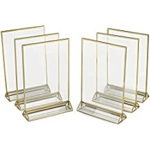 A5 Quad Four 4 Sided Clear Perspex Acrylic Menu Leaflet Holder Display Stand