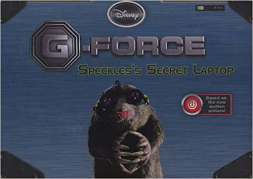 G Force Speckles Secret Laptop Disney Press Amazon Com Books