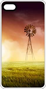 Windmill Green Power Renewable Energy Clear pc Case for Apple iPhone 4 or iPhone 4s