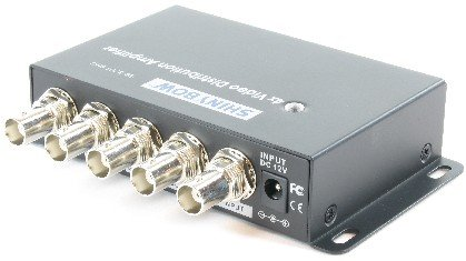 Shinybow SB-3701BNC 1x4 4-Way Composite BNC Video Distribution Amplifier