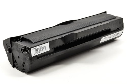 Professionally Remanufactured Toner Cartridge Compatible with MLT-D104L for ML-1660, ML-1665, ML-1865W, Office Central