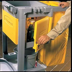 Optional Locking Cabinet, Yellow