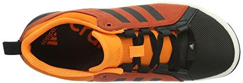 Adidas Slack Cruiser - Zapatos de senderismo de material sintético hombre multicolor - Mehrfarbig (Dark Chili/Black 1/Solar Zest)
