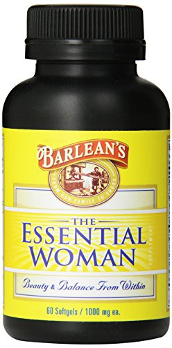 Barlean's Organic Oils Essential Woman 1000 mg Softgels, 60-Count (Softgels 60 Count Bottle)