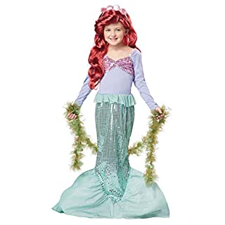 California Costumes Girls Little Mermaid Child Costume
