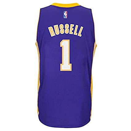 D Angelo Russell Los Angeles Lakers Adidas Road Swingman Jersey (Purple) XL 1ff7978a7