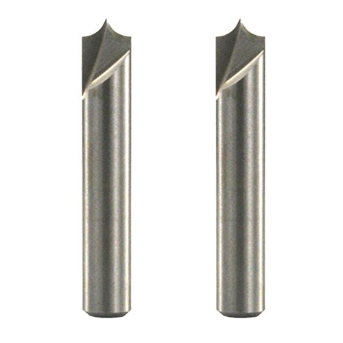 Freud 20-301 Radius 1/4-Inch Shank V-Groove for 99-472 Router System, 2-Pack - Beadboard Blades