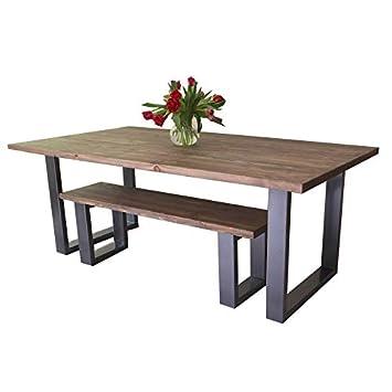 Table De Salle A Manger Moderne De Style Industriel Avec