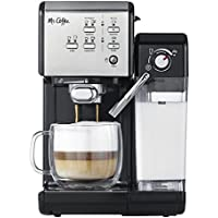 Mr. Coffee One Touch CoffeeHouse Espresso Maker & Cappuccino Machine