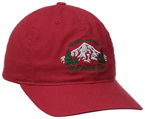 Columbia Men's Roc Graphic Ballcap, Rocket/Pinewood embed, One Size