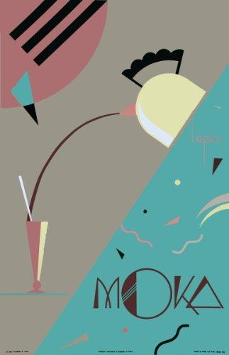 Charles Lepas-Moka-1992 Serigraph