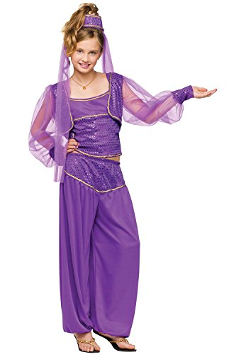 Fun World Dreamy Genie Costume, Medium 8-10, Purple - Costume Wonder Woman Diy