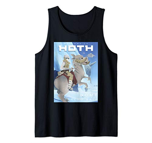 - Star Wars Welcome To Hoth Home Of Echo Base Geometric Poster Tank Top