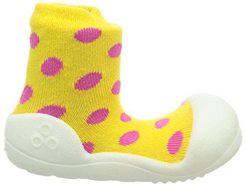 Attipas-Zapatos Primeros Pasos- Polka Dot- Talla M- Color Amarillo
