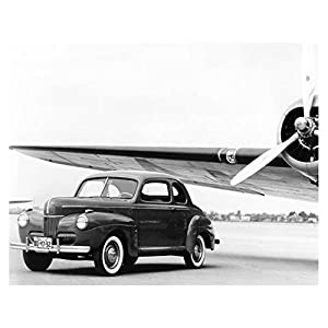 1941 Ford Super Deluxe Coupe Factory Photo
