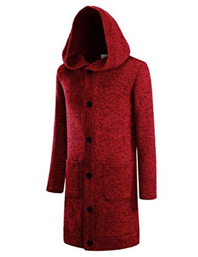 Fleece Long Sleeve Cardigan - 3