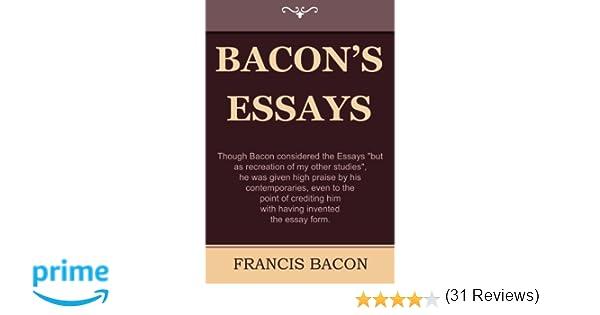 francis bacon essays Brain Pickings