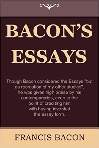 buy bacon s essays book online at low prices in bacon s  buy bacon s essays book online at low prices in bacon s essays reviews ratings in