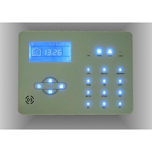 Jandei - KIT ALARMA hogar y oficina VIA RADIO GPRS PSTN+GSM ...
