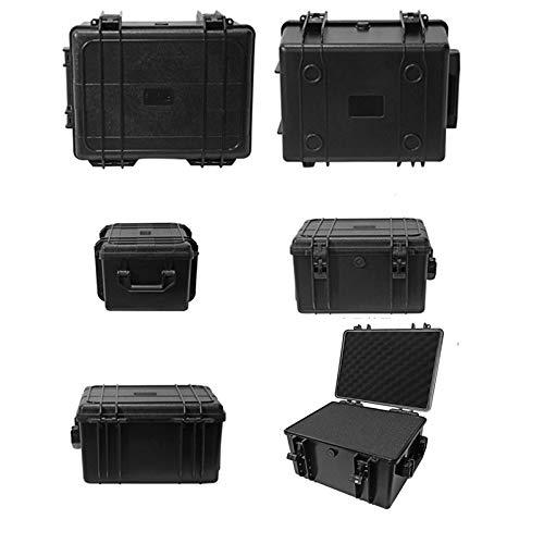 FIRECLUB 多機能 ABS防水安全ケースプラスチック ハンド ガン ケース 暗視ゴーグル双眼鏡ボックスガンケースハードカバーパッド入り用語350×290×207 mm B07RW4BTVX