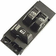 Master Power Window Switch (Black) - Driver Side Door - Chevrolet Silverado, GMC Sierra 1999, 2000, 2001, 2002 - 1500, 2500, 2500 HD, 3500 - Window Switch, Housing for Chevy - Replaces GM # 15047637
