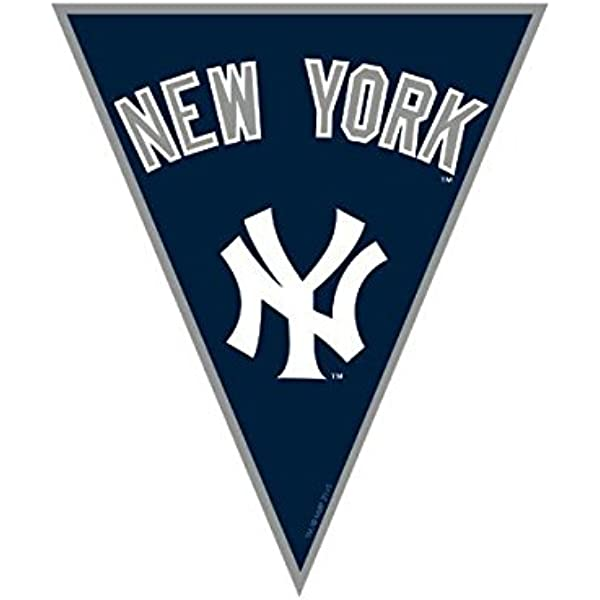 One Size WinCraft MLB New York Yankees Pennant12x30 Classic Pennant Team Colors