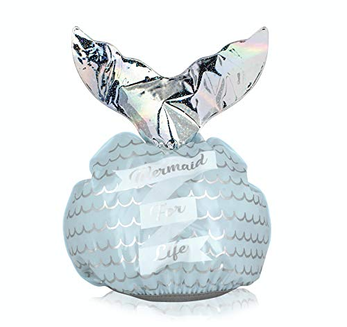 Npw Mermaid Tail Shower Cap