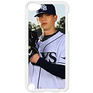 MLB IPod Touch 5 White Tampa Bay Devil Rays cell phone cases&Gift Holiday&Christmas Gifts NADL7B8825703
